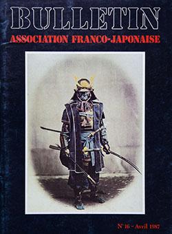 Bulletin Association Franco-Japonaise No 16 Janvier 1987