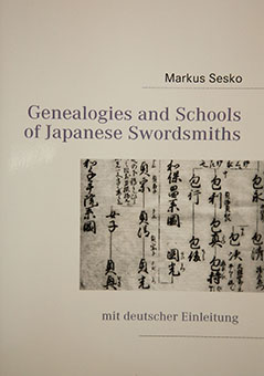 Genealogies and Schools of Japanese Swordsmiths